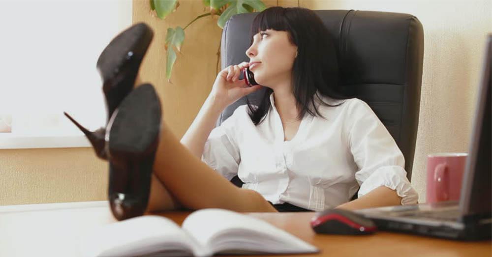Para aliviar o estresse no ambiente de trabalho