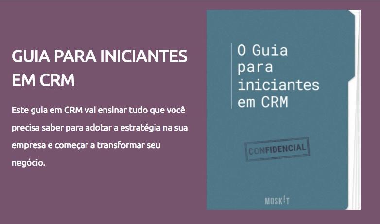 Guia para iniciantes em CRM