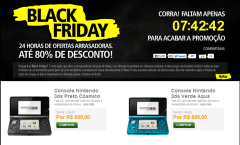 tempo black friday